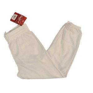 [Rawlings] White Baseball Knickers- Size L